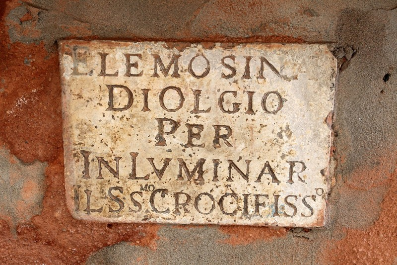 Vernacular Typography Venice Italy Fading Inscription