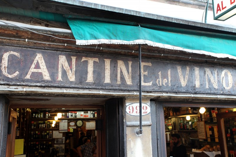 Vernacular Typography Venice Italy Hand Painted Store Signage