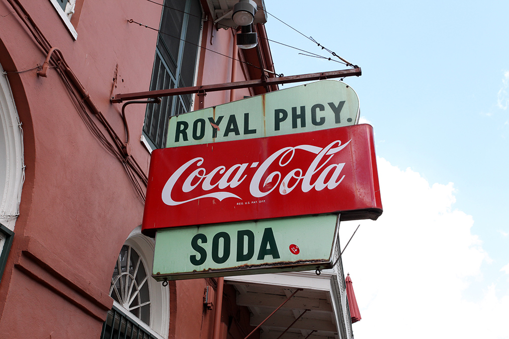 Molly Woodward Vernacular Typography New Orleans Royal Pharmacy Storefront Sign