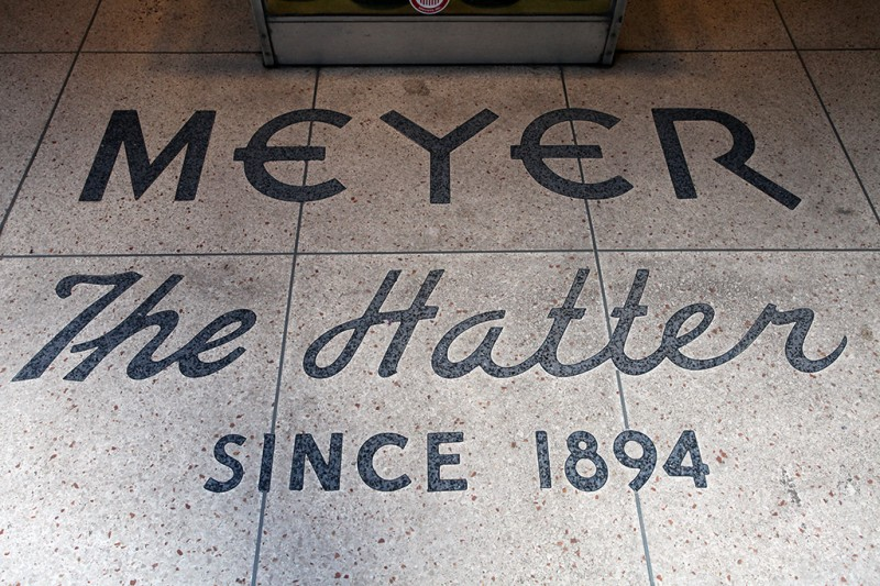 Molly Woodward Vernacular Typography New Orleans Meyer The Hatter Lettering