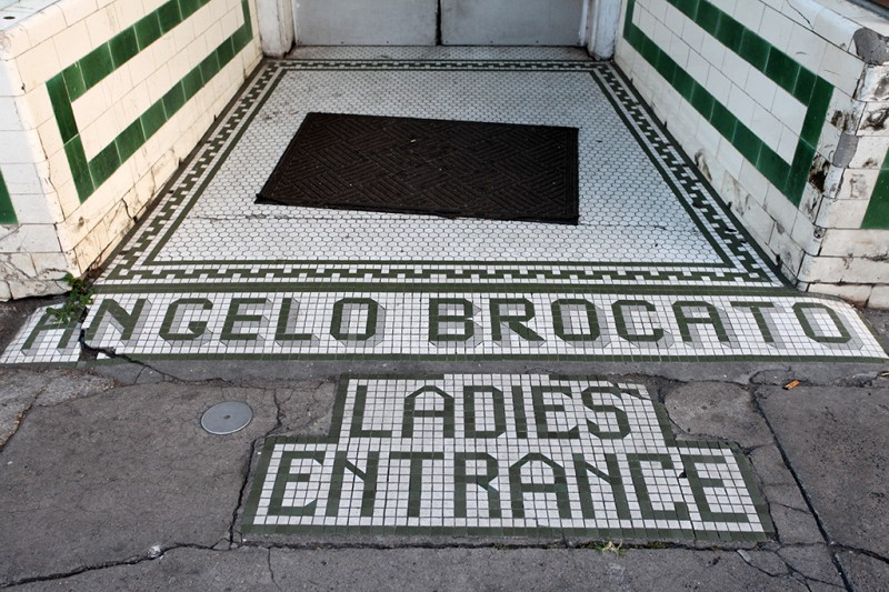 Molly Woodward Vernacular Typography New Orleans Angelo Brocato Tile Lettering