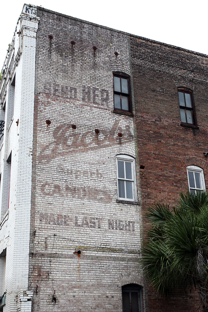 Molly Woodward Vernacular Typography New Orleans Ghost Sign Jacobs Candies