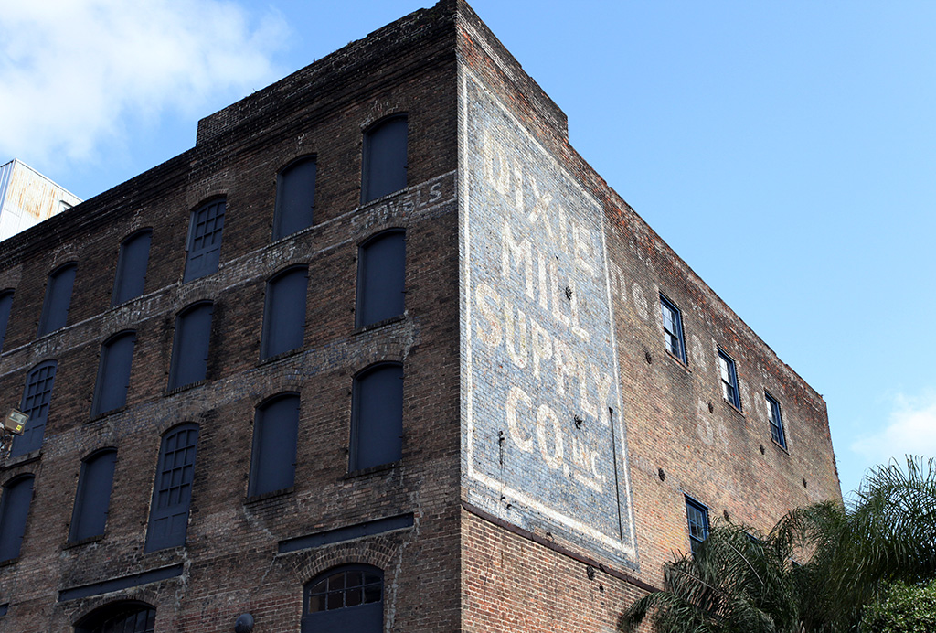 Molly Woodward Vernacular Typography New Orleans Ghost Sign Dixie Mill Supply Co