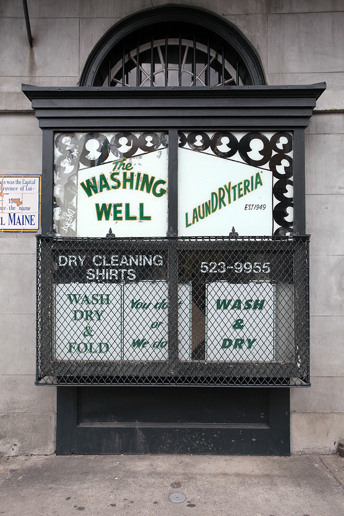 Molly Woodward Vernacular Typography New Orleans The Washing Well