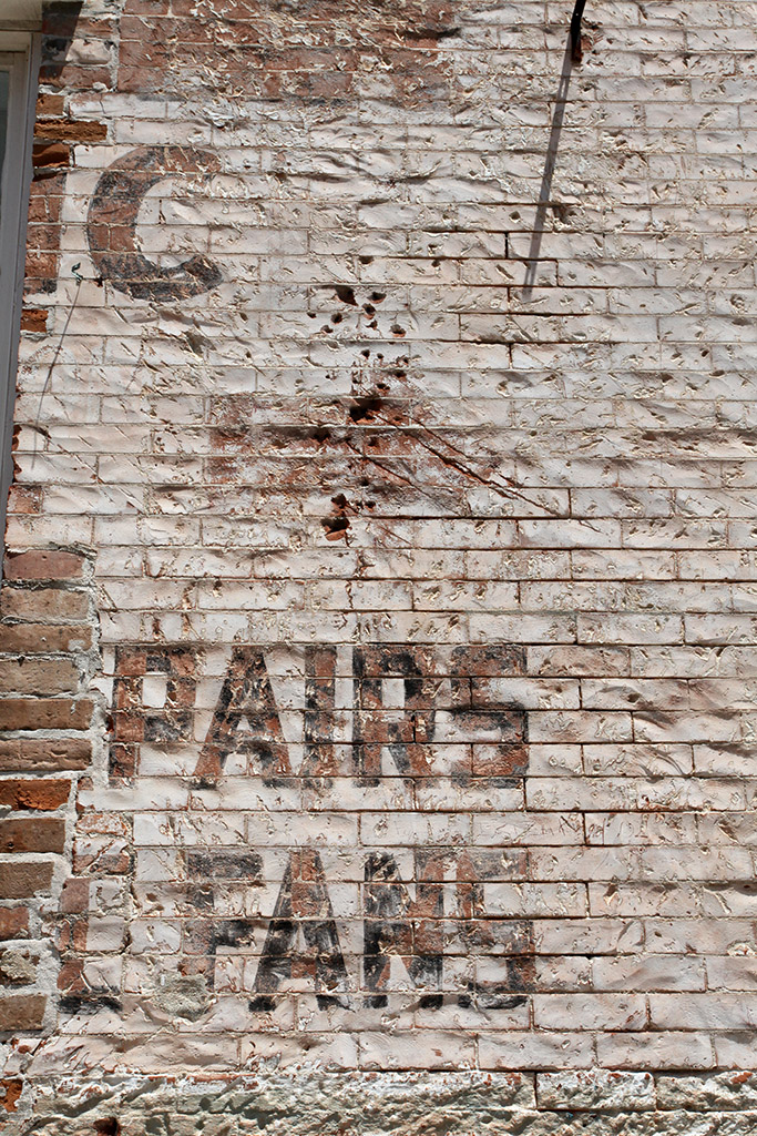 Molly Woodward Vernacular Typography New Orleans Ghost Sign