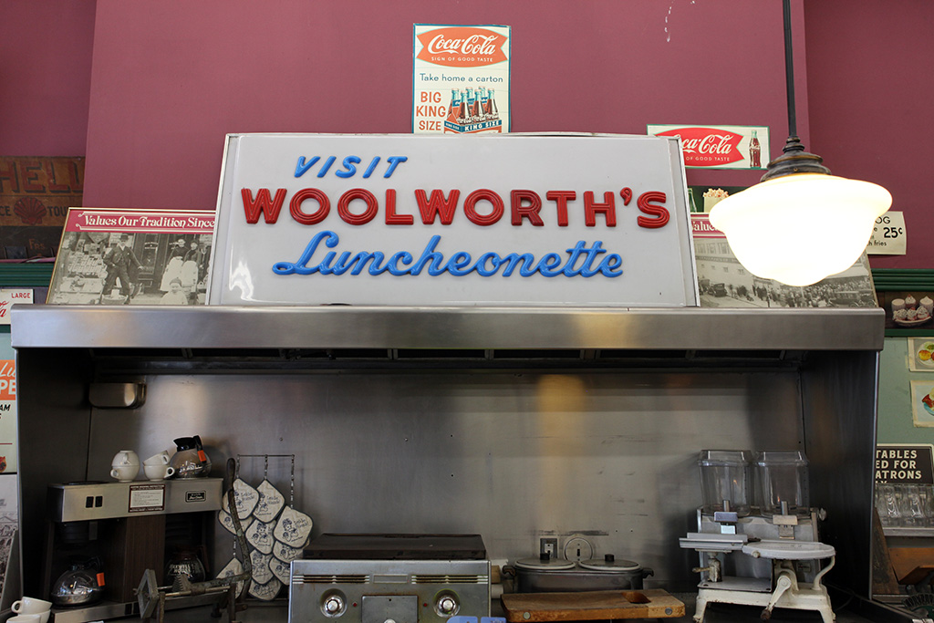 Molly Woodward Vernacular Typography New Orleans Woolworth's Luncheonette Salvaged Signs