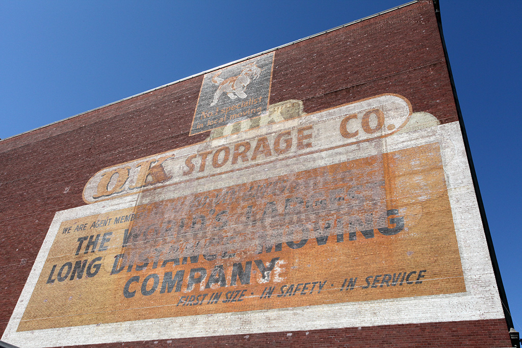 Molly Woodward Vernacular Typography New Orleans Ghost Sign OK Storage Co