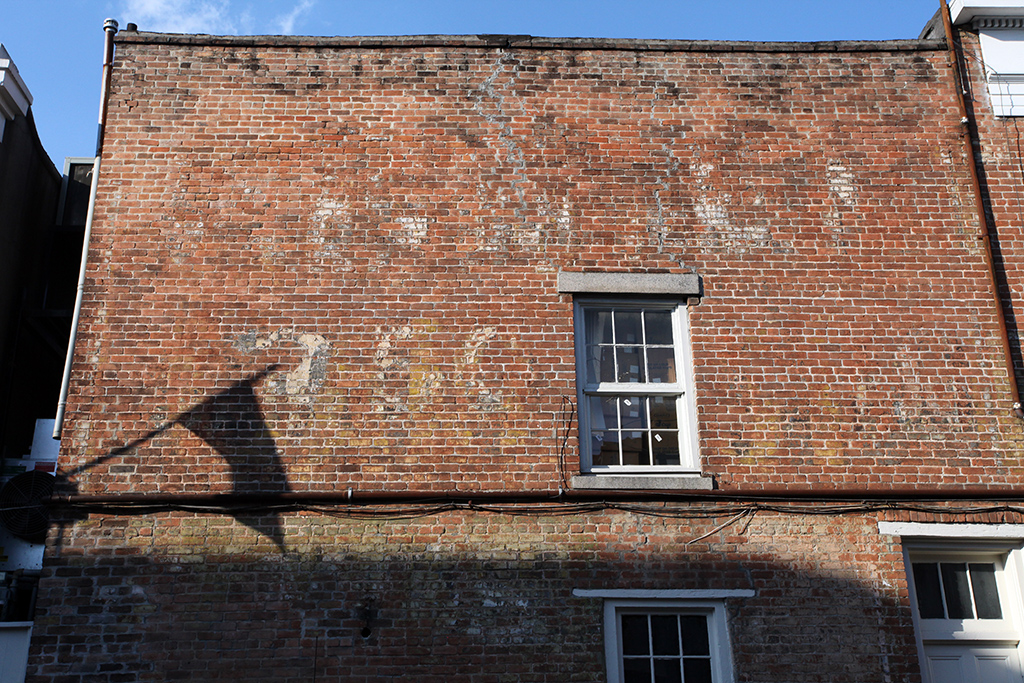 Molly Woodward Vernacular Typography New Orleans Bourbon Street Ghost Sign