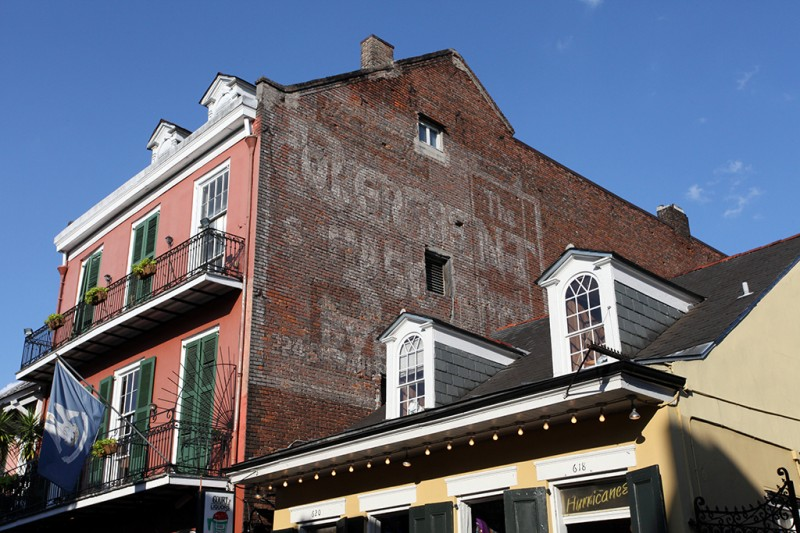 Molly Woodward Vernacular Typography New Orleans Bourbon Street Ghost Sign $3.50