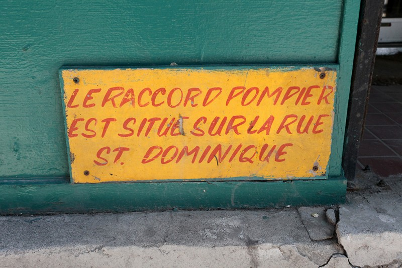 Vernacular Typography Montreal Hand Painted Sign