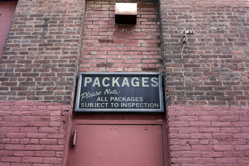 Woodward Vernacular Typography DUMBO Spielberg Signage
