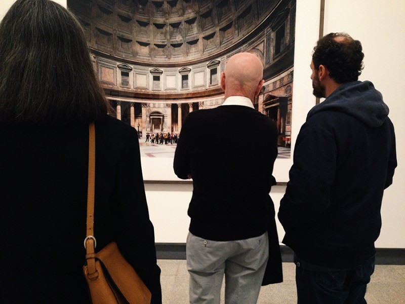 Vernacular Typography October NYC Met Museum Thomas Struth