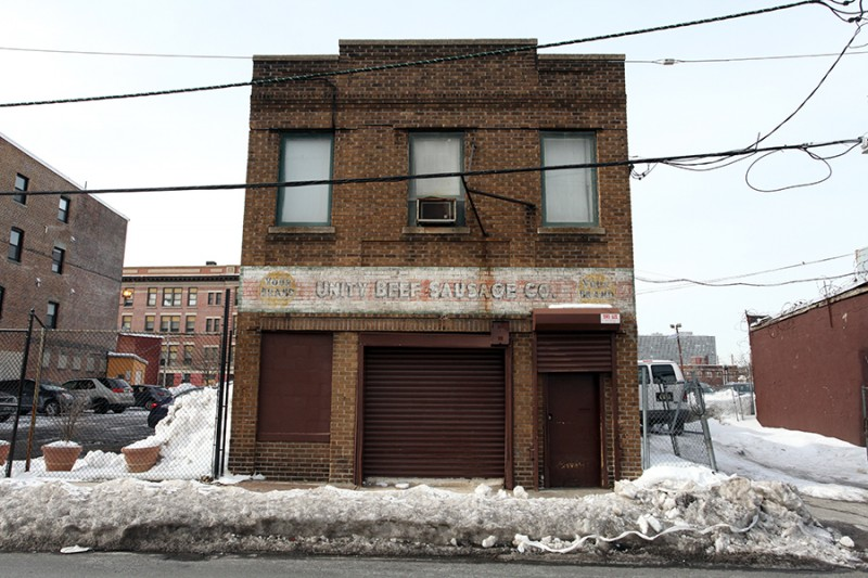 Vernacular Typography February Newark Unity Beef Ghost Sign